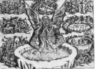 Die Hölle wie man sie sich 1477, zur Zeit der Renaissance, vorstellt.