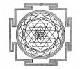 Das Sri-Yantra-Symbol.
