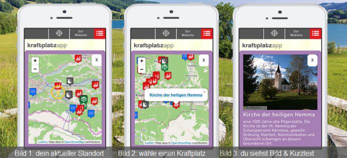 kraftplatz app