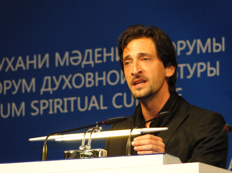 Adrien Brody in Astana